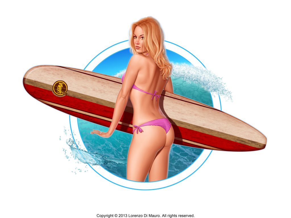 YanaSurf_Lorenzo Pin-up